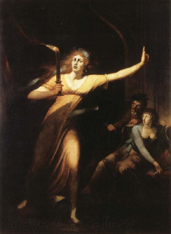 Henry Fuseli Lady Macbeth Sleepwalking