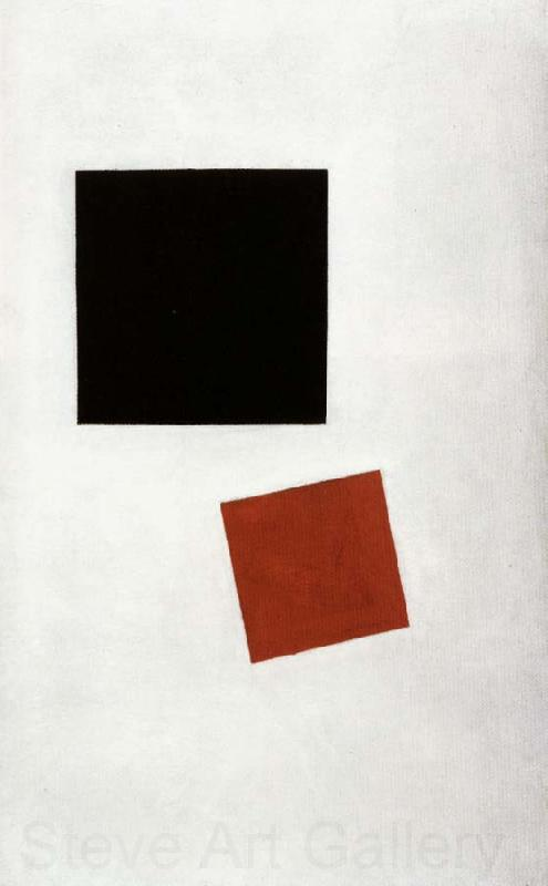 Kazimir Malevich Boy with Knapsack-Color Mases in the Fourth Dimensin