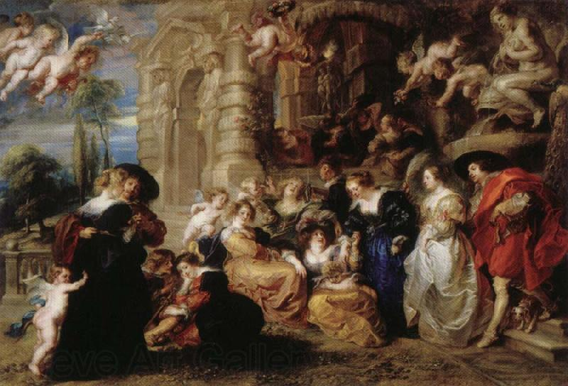 Peter Paul Rubens Garden of Love
