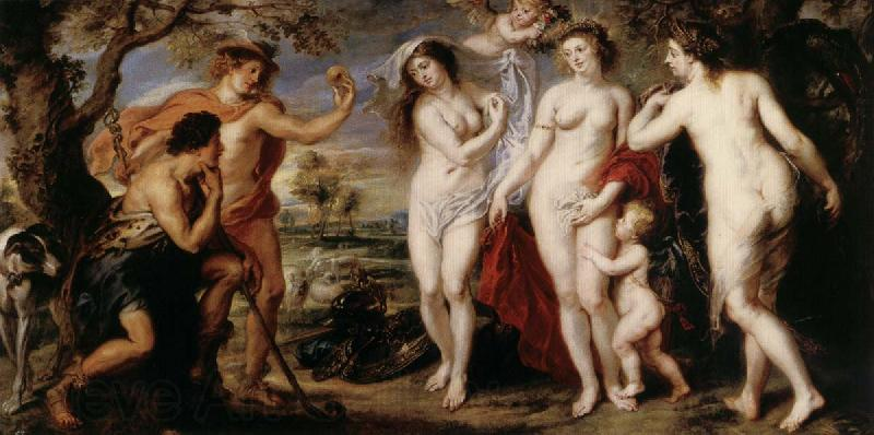 Peter Paul Rubens Judgement of Paris