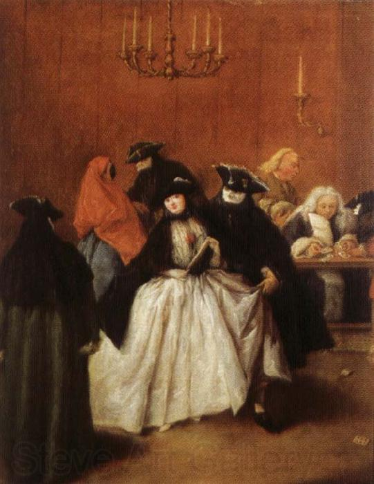 Pietro Longhi Masks in the Foyer