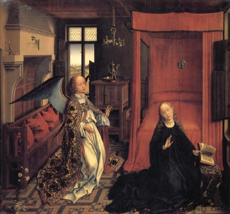 Roger Van Der Weyden The Annunciation