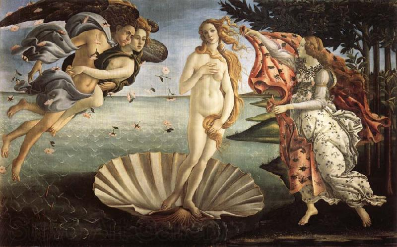Sandro Botticelli Birth of Venus