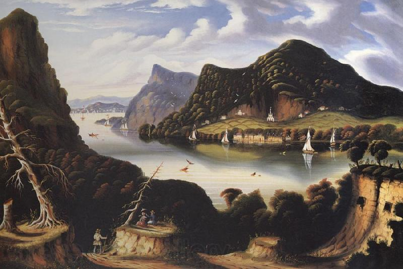 Thomas Chambers View of Cold Spring and Mount Taurus about 1850