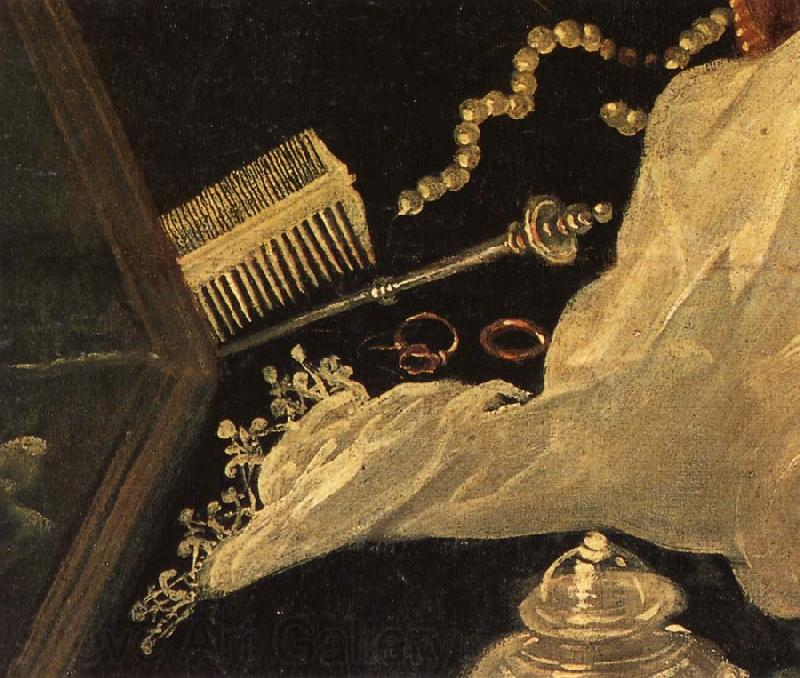 Tintoretto Details of Susanna and the Elders