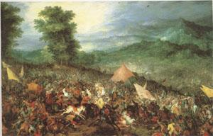 BRUEGEL, Pieter the Elder The Battle of Issus (mk05)
