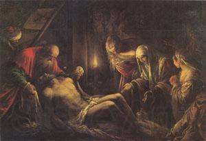 Jacopo Bassano The Descent from the Cross (mk05)