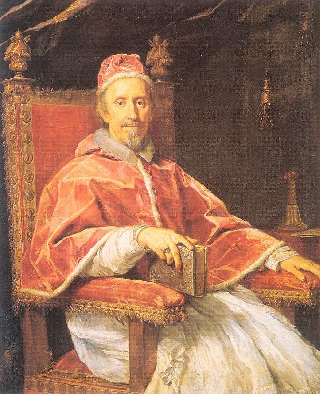 Maratta, Carlo Portrait of Pope Clement IX