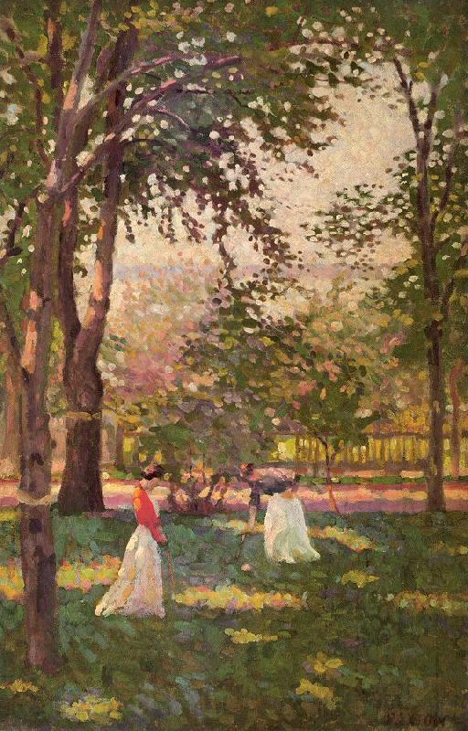 Paxton, William McGregor The Croquet Players