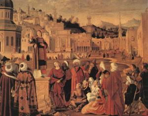 Vittore Carpaccio Stephen Preaching at Jerusalem (mk05)
