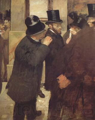 Edgar Degas At the Stock Exchange (mk06)