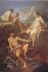Francois Boucher Venus Requesting Arms for Aeneas from Vulcan (mk05)