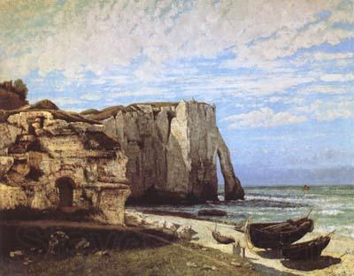 Gustave Courbet The Cliff at Etretat after the Storm (mk09)