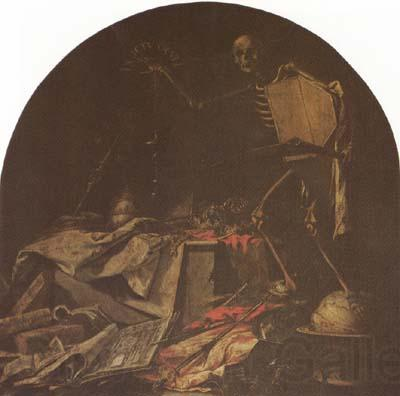 Juan de Valdes Leal Allegory of Death (mk08)