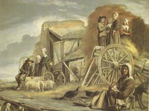 Louis Le Nain The Cart or the Return from Haymaking (mk05)