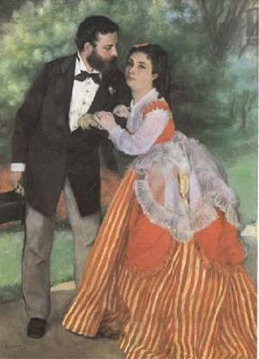 Pierre-Auguste Renoir The Painter Sisley and his Wife (mk09)