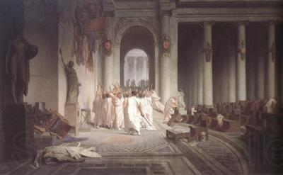 Alma-Tadema, Sir Lawrence Jean-Leon Gerome,The Death of Caesar (mk23)