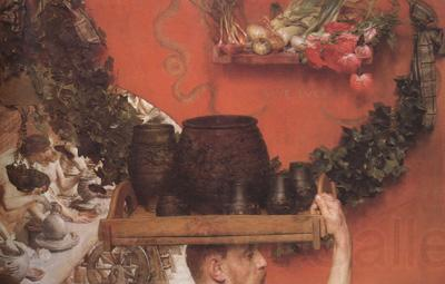 Alma-Tadema, Sir Lawrence The Roman Potters in Britain (mk23)