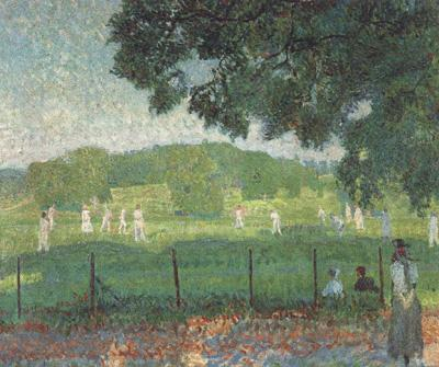 Frederick spencer gore The Cricket Match (nn02)