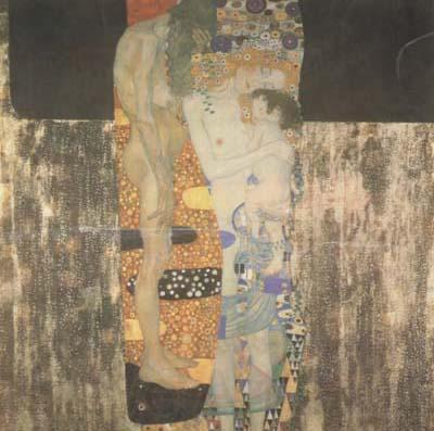 Gustav Klimt The Three Ages of Woman (mk20)