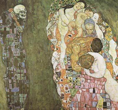 Gustav Klimt Death and Life (mk20)