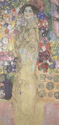 Gustav Klimt Portrait of a Lady (mk20)