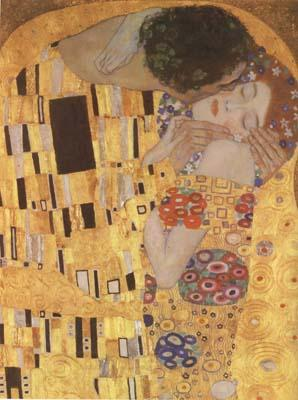 Gustav Klimt The Kiss (detail) (mk20)