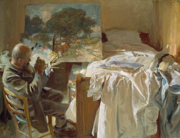 John Singer Sargent Artist in His Studio (mk18)