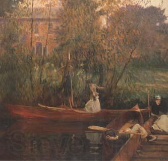 John Singer Sargent A Boating Party (mk18)