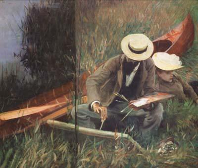 John Singer Sargent Paul Helleu Sketching with his Wife (mk18)