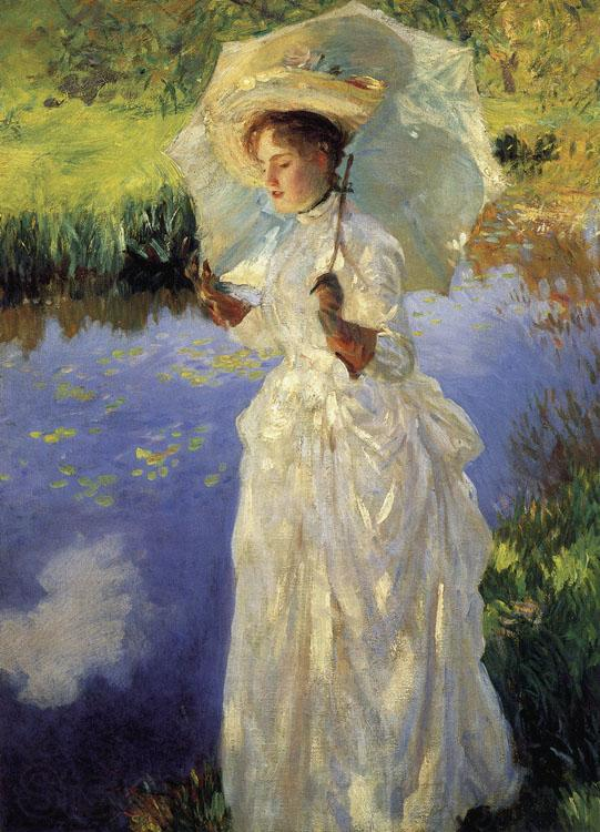 John Singer Sargent A Morning Walk (nn02)