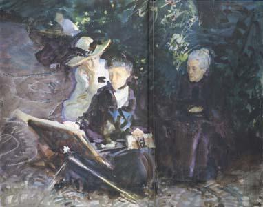 John Singer Sargent In the Generalife (mk18)