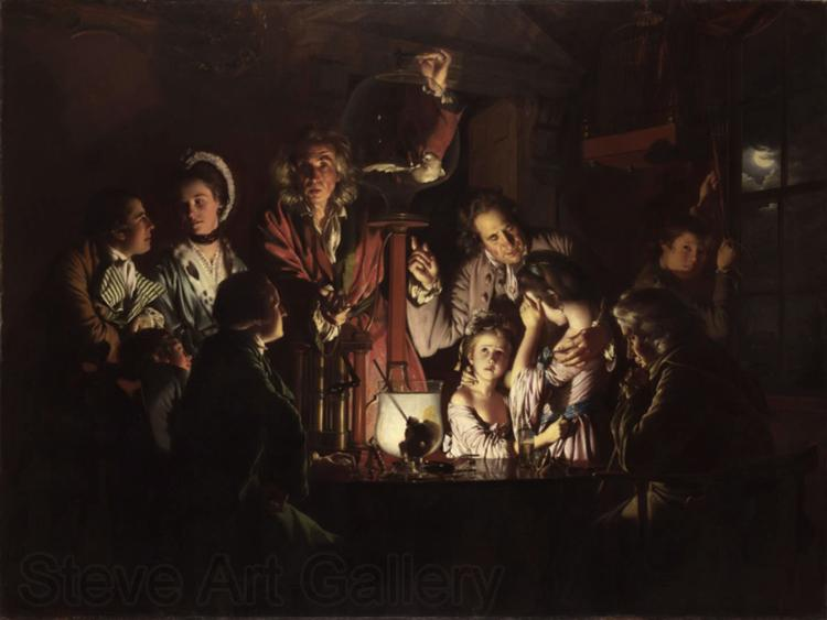 Joseph Wright The Experiment with the Aipump (mk22)