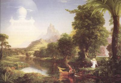 Thomas Cole The Voyage of Life,Youth (mk19)