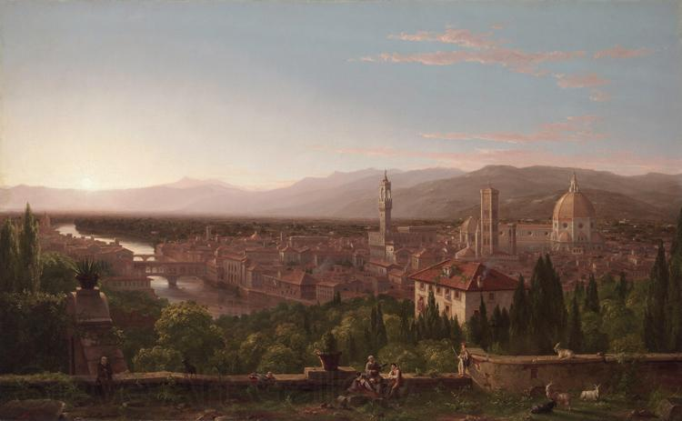Thomas Cole View of Florence from San Miniato (mk13)