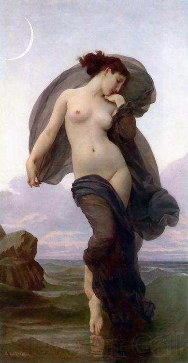 Adolphe William Bouguereau Evening Mood (mk26)