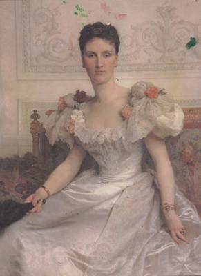 Adolphe William Bouguereau Portrait of Madame la Comtesse de Cambaceres (mk26)