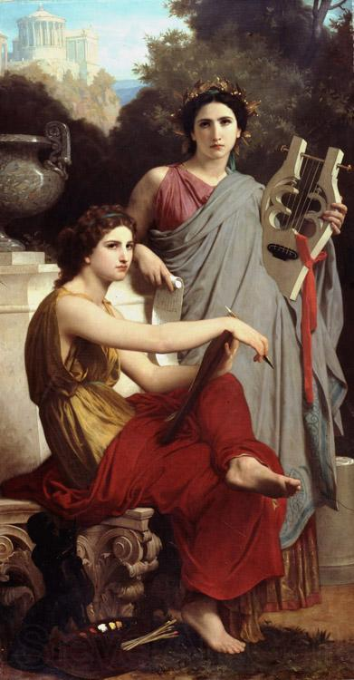 Adolphe William Bouguereau Lart et la litterature Art and Literature (mk26)