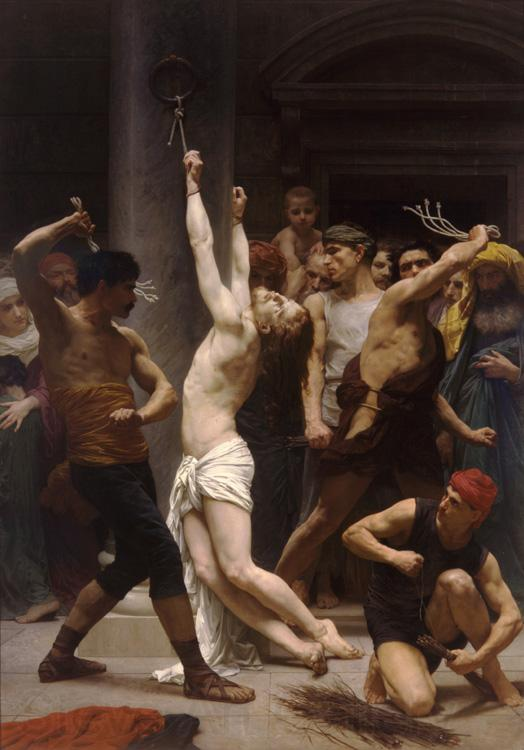 Adolphe William Bouguereau The Flagellation of Christ (mk26)