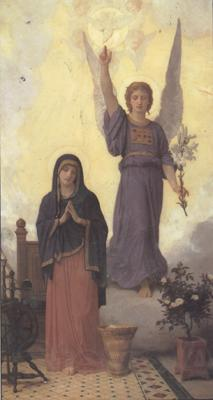 Adolphe William Bouguereau The Annunciation (mk26)