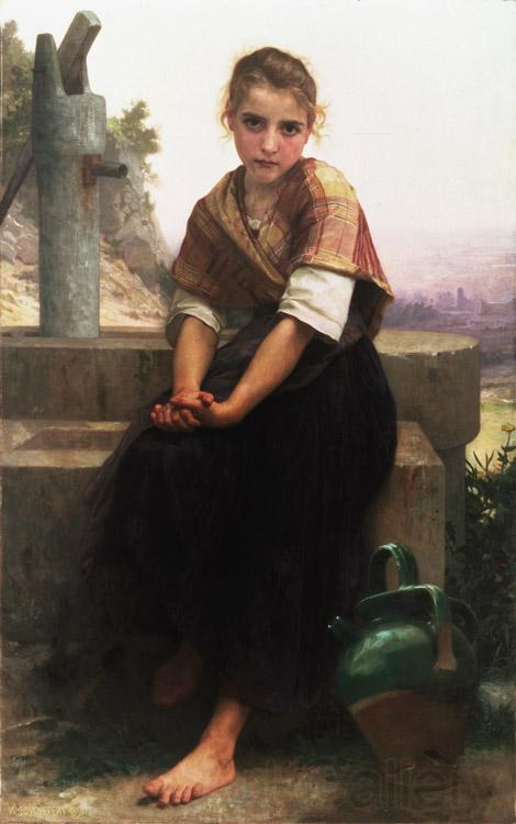 Adolphe William Bouguereau The Broken Pitcher (mk26)