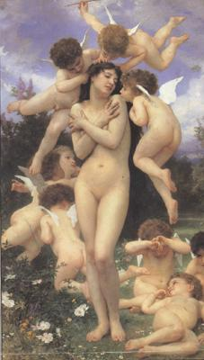 Adolphe William Bouguereau Le pintemps (mk26)