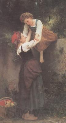 Adolphe William Bouguereau Little Marauders (mk26)