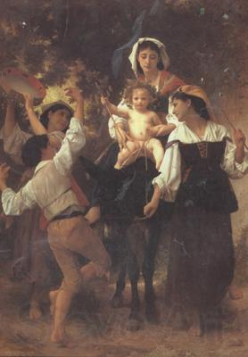 Adolphe William Bouguereau Return from the Harvest (mk26)