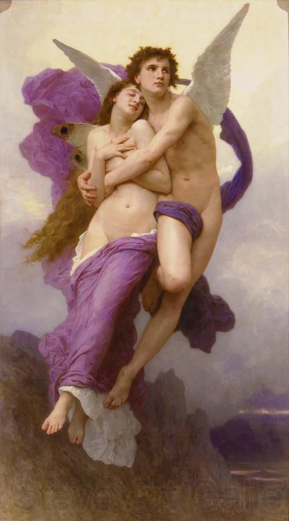 Adolphe William Bouguereau Le ravissement de Psyche (mk26)