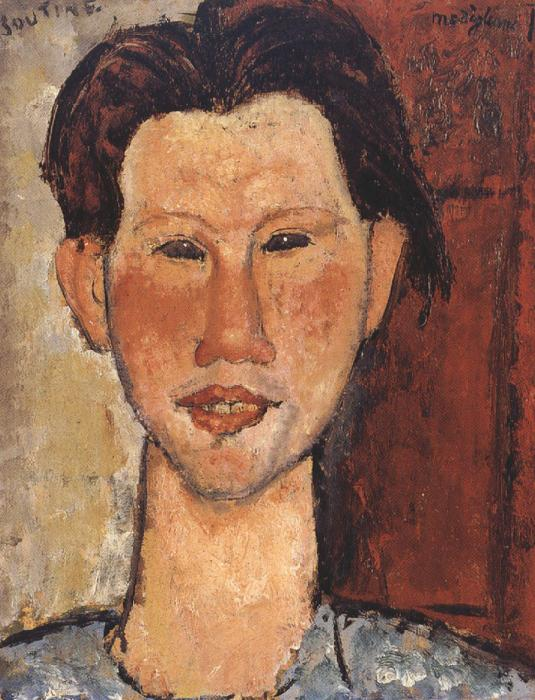 Amedeo Modigliani Chaim Soutine (mk39)