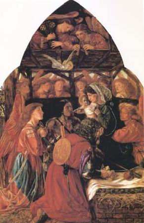 Dante Gabriel Rossetti The Seed of David (mk28)