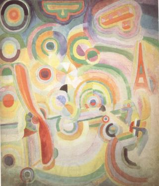 Delaunay, Robert Homage to Bleriot (nn03)