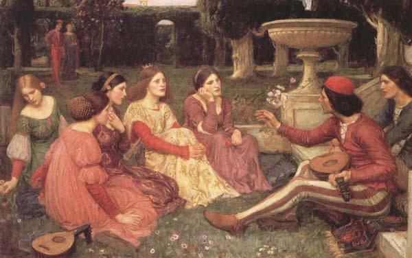 John William Waterhouse A Tale from The Decameron (mk41)