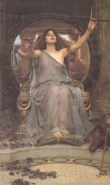 John William Waterhouse Circe offering the Cup to Ulysses (mk41)